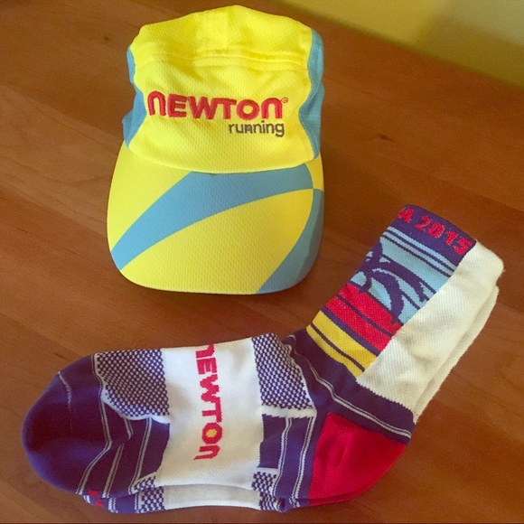 Newton Running Headsweats Running hat   Kona socks.  M 5a81a8c7a825a6bfff5d1f17 e40cf2e4b06